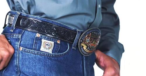Cinch Classic belt buckle.